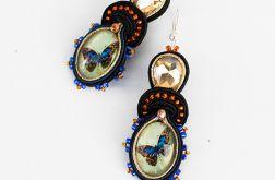Kolczyki sutasz Blue Butterfly
