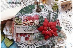 Kartka świąteczna Bombka Boże Narodzenie 5
