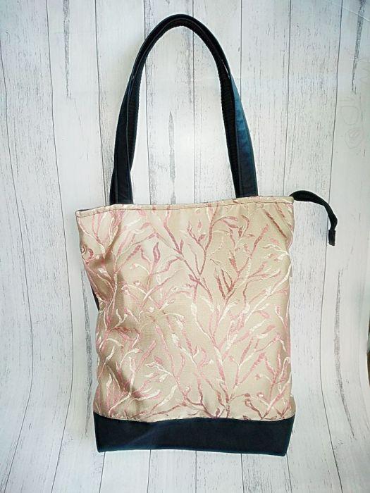 Torebka damska torba shopper gałęzie