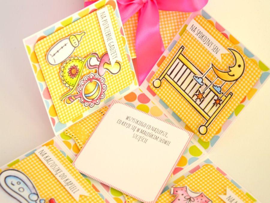 KOLOROWY BOX wersja dziewczęca - Box dla dziecka