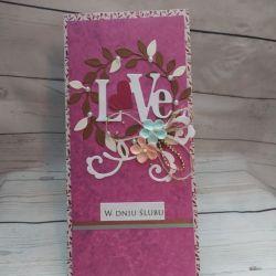 Kartka ślubna LOVE