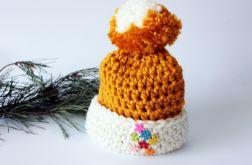 Zimowa czapka dla dziewczynki