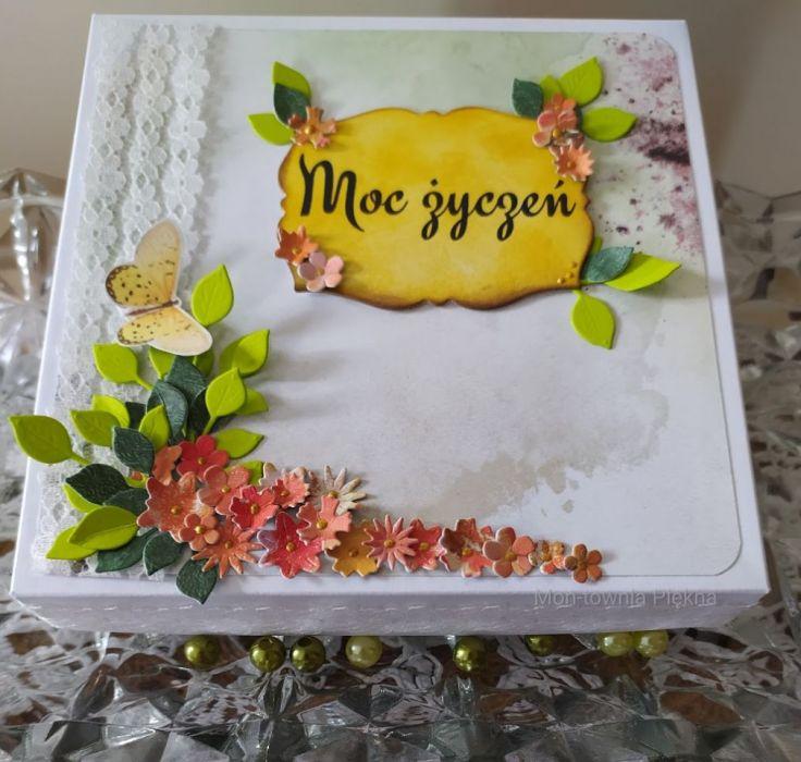 Kwiatowa kartka urodzinowa dla dziewczynki