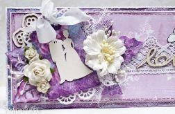 Kartka ślubna z parą LOVE