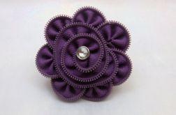Broszka z zamka fiolet