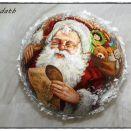 Bombka Mikołaj czytający list