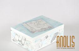 Pudełko Szkatułka z nadrukiem