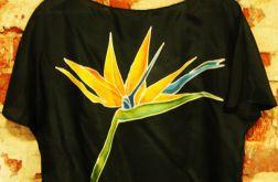 Bluzka jedwabna ręcznie malowana - Strelicja