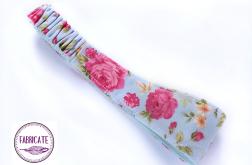 Opaska bawełniana mała, róże 2- Fabricate