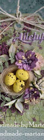 Tag z jajeczkami na wielkanoc