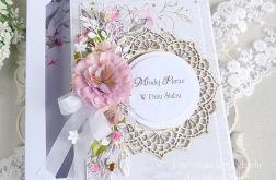 Ślubna kartka w pudełku 248