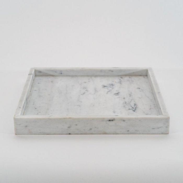 Taca marmurowa Bianco Carrara  20cmx20cm
