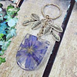 0571~mela- Brelok do kluczy, torebki kwiat