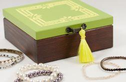 Limonkowa szkatułka