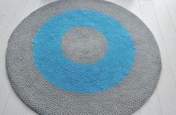 dywan bawełniany szaty- turkus