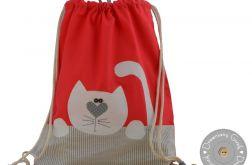 plecaczek worek do przedszkola z imieniem k