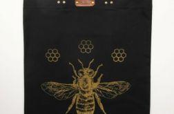 Pszczoła - torba bawełniana z nadrukiem