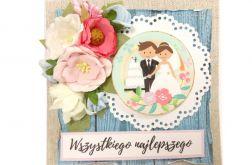 kartka ślubna #600