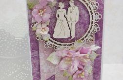 Na ślub - fiolet