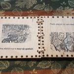 piekna drewniana ksiązka - strony