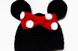 Szydełkowa czapka myszka Minni