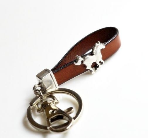Brelok skóra 10mm koń