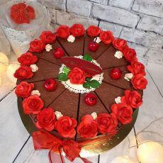 Tort papierowy na urodziny
