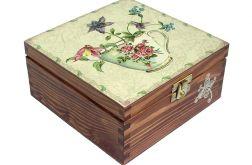 HERBATKA W OGRODZIE - herbaciarka, pudełko
