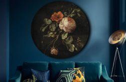 Botanika - obraz w okrągłej ramię