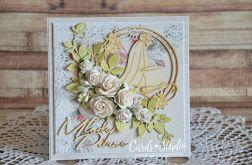 Młodej Parze - kartka ślubna