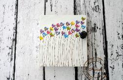 pudełko na klucze z tulipanami