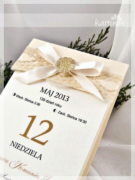 "Zaproszenia "" Kalendarze"""