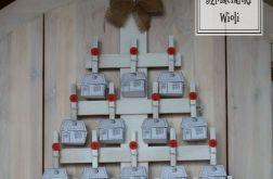 Kalendarz adwentowy Rustykalna choinka