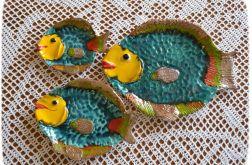 Patery ceramiczne ryby
