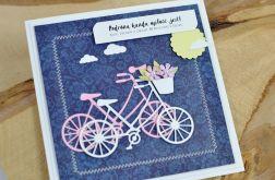 Kartka na ROCZNICĘ ŚLUBU rowery #1