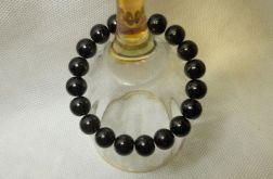 27.Bransoletka ze szklanych koralików 10mm