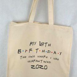 18 urodziny prezent Torba bawełniana-2