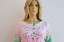 Kolorowy sweterek ombre
