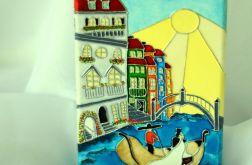 Wenecja... Kartka ślubna na płótnie