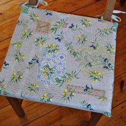 Poduszka na krzesło, siedzisko- Extra vergine