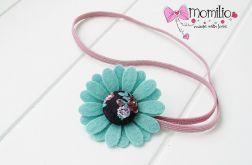 Momilio * opaska do włosów kolorowy kwiatek