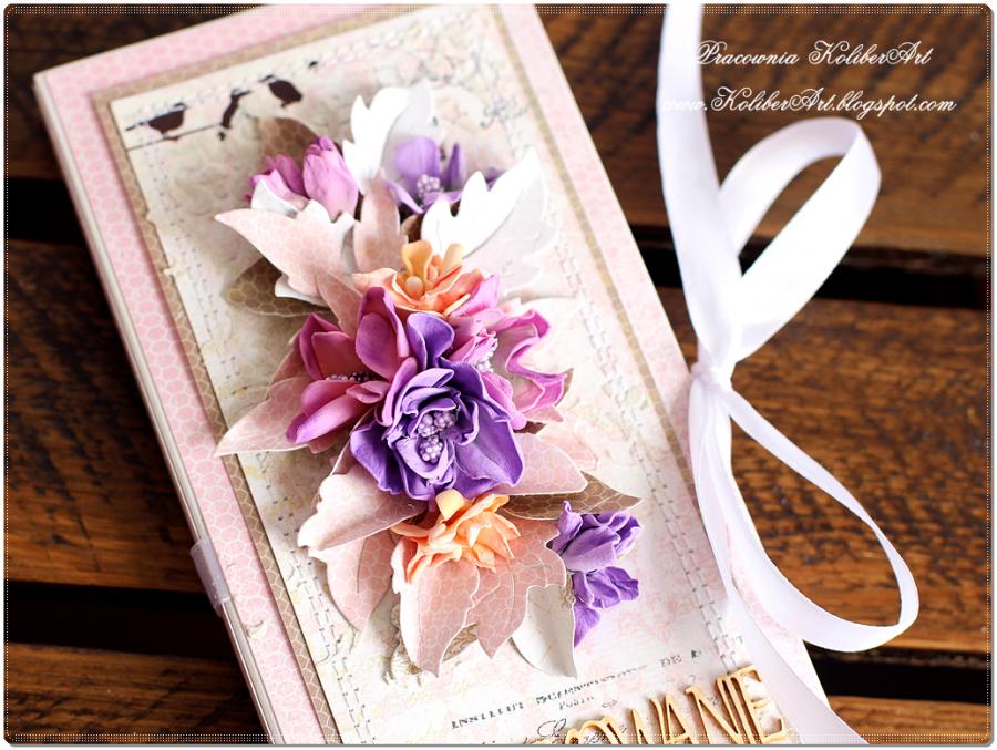 Czekoladownik- podziękowanie z kwiatami