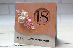 Kartka na 18 #8#