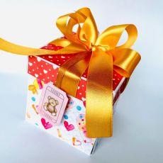 Pluszowy miś - Box dla dziewczynki