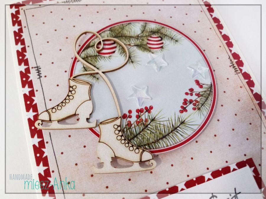 Wyjątkowa KARTKA ŚWIĄTECZNA - 71 - Boże Narodzenie, choinka, stajenka, szopka, święta rodzina, okolicznościowe