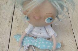ANIOŁEK lalka tekstylna,cute angel 10, OOAK