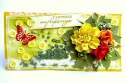 Kartka wiosenna na urodziny