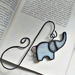 Zakładka do książki Słoń Tiffany