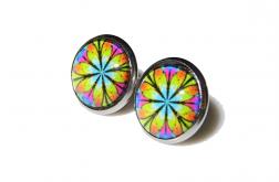 Kolczyki Kolorowe Mandale