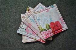 Podkładki pod kubki Róże vintage